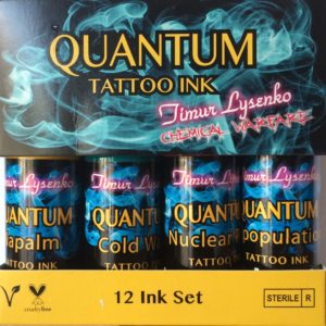 Quantum Tattoo Ink Sets