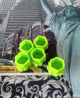 Hexagonal Cups
